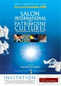 Invitation Personnelle Salon International du Patrimoine Culturel 2009