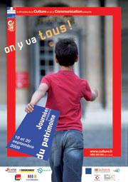 Affiche Journées du Patrimoine 2009