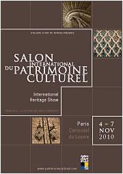 Affiche du Salon du Patrimoine Culturel 2010