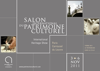 Affiche salon international du patrimoine culturel 2011