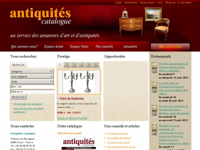 Antiquités Catalogue
